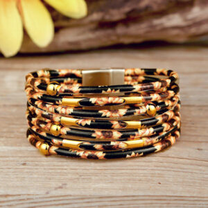 """search result Google SERP""""Belle lily Coupon code Sunflower Multi-Layered Leather Wrap Bracelet"""""""