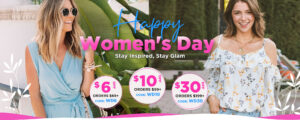 """search result in google serp"""" bellelily coupon code womens day offer"""""""